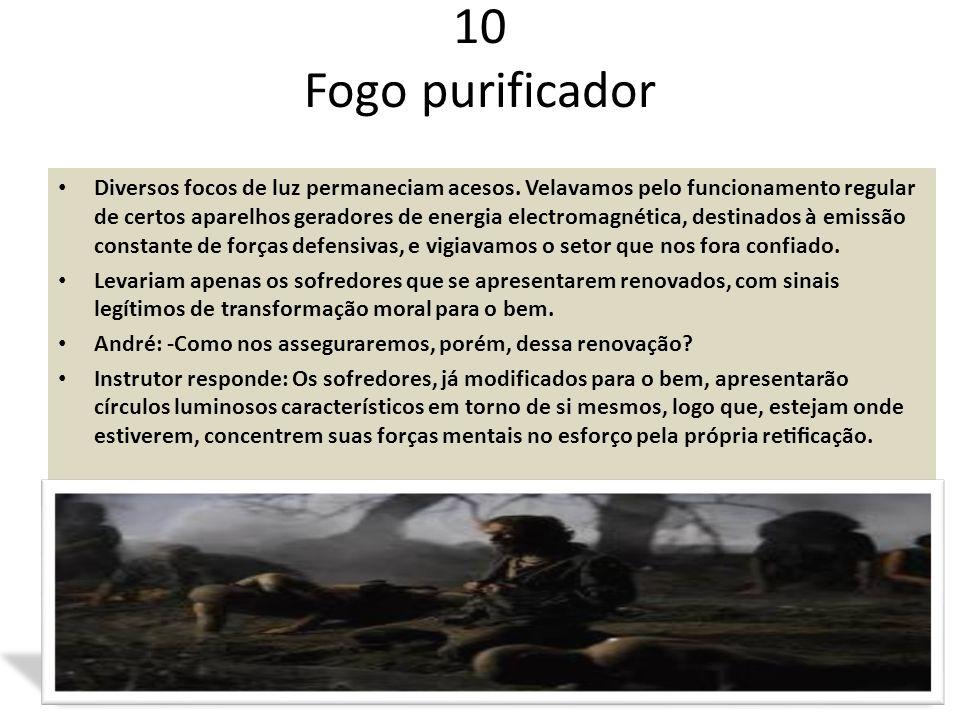 10 Fogo purificador