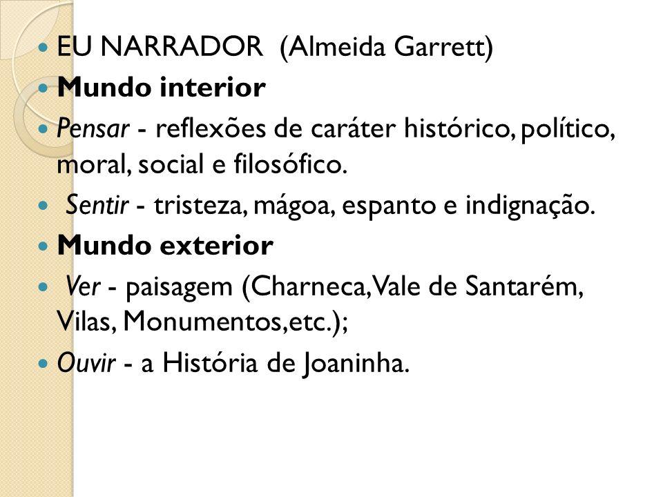 EU NARRADOR (Almeida Garrett)