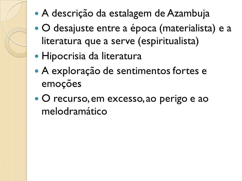 A descrição da estalagem de Azambuja