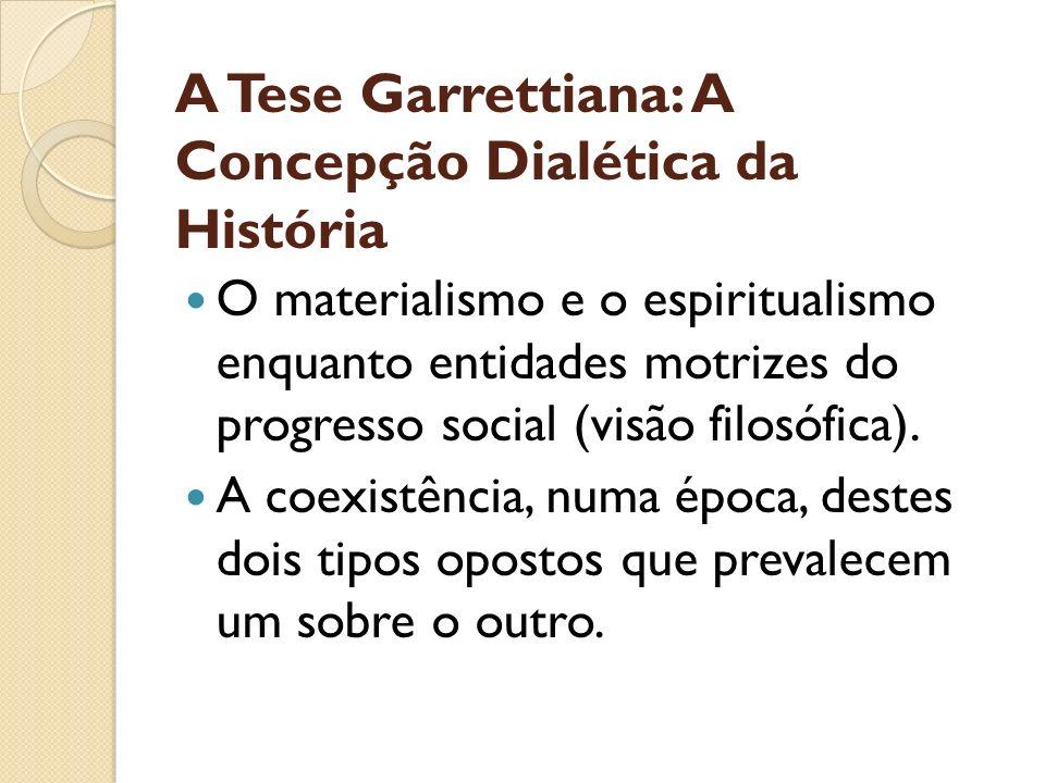 A Tese Garrettiana: A Concepção Dialética da História