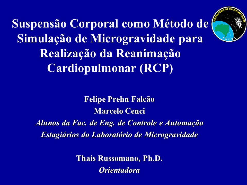 Suspensão Corporal como Método de Simulação de Microgravidade para Realização da Reanimação Cardiopulmonar (RCP)