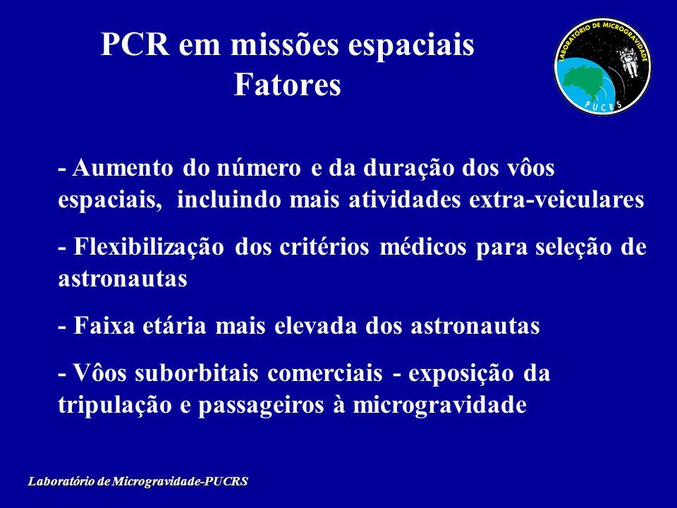 PCR em missões espaciais Fatores