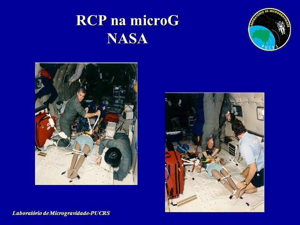 RCP na microG NASA Laboratório de Microgravidade-PUCRS