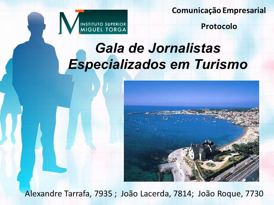 Gala de Jornalistas Especializados em Turismo