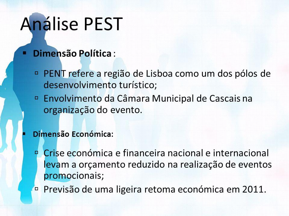 Análise PEST Dimensão Política :