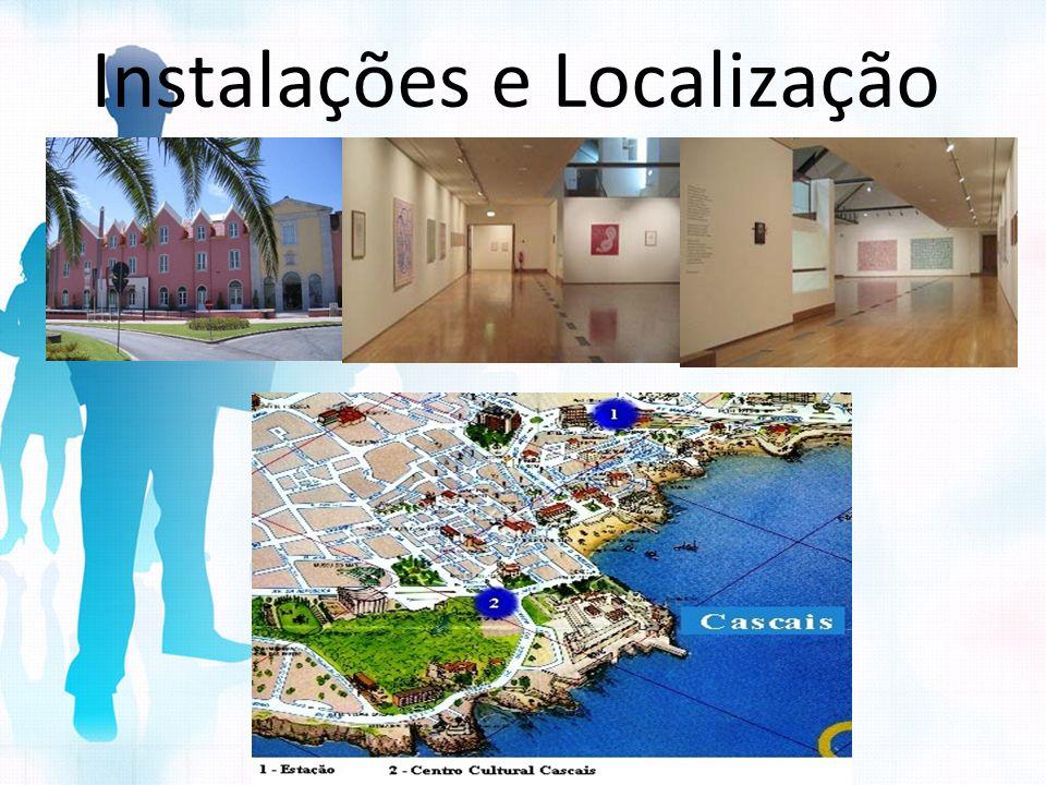 Instalações e Localização