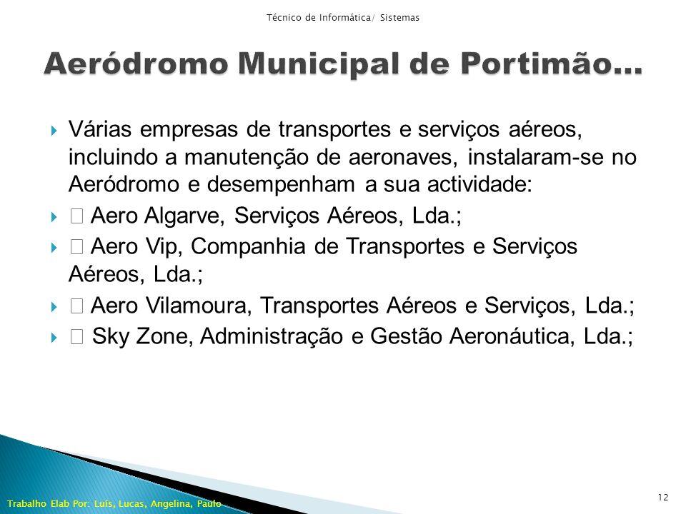 Aeródromo Municipal de Portimão…