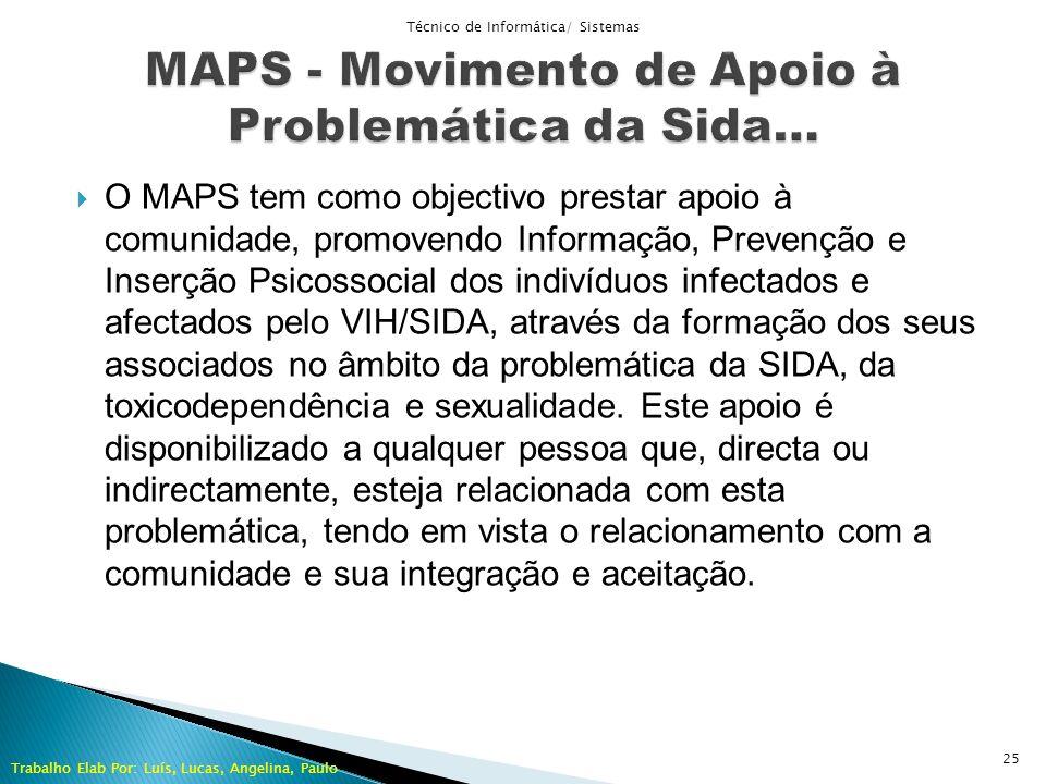 MAPS - Movimento de Apoio à Problemática da Sida…