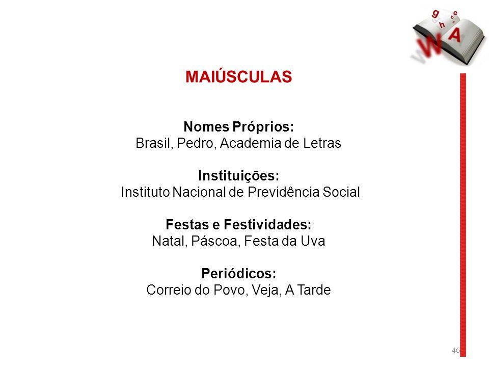 Festas e Festividades: