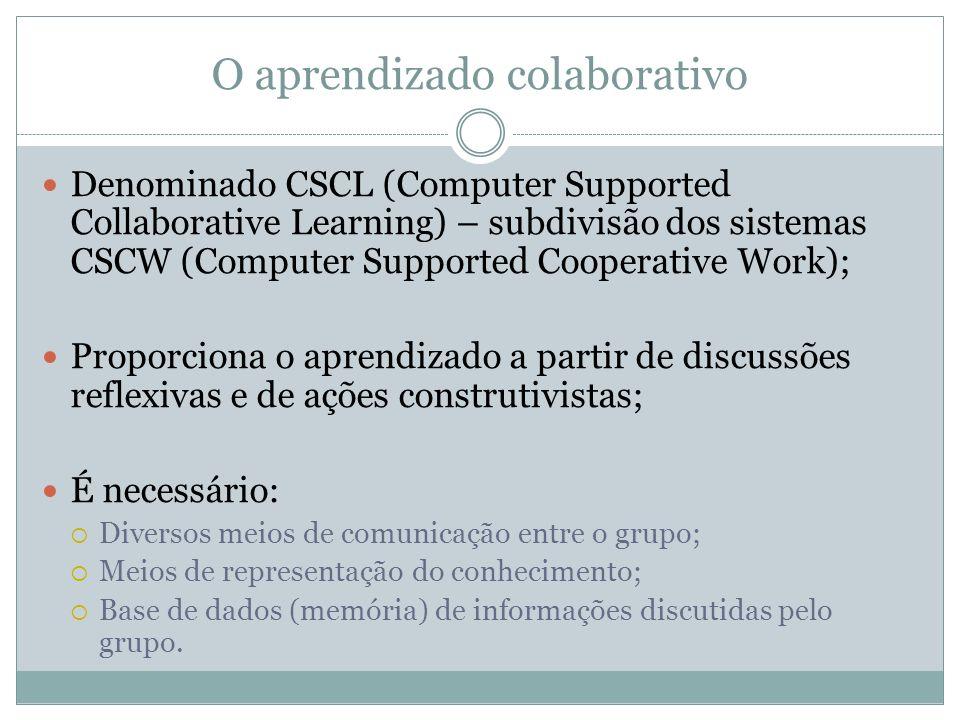 O aprendizado colaborativo