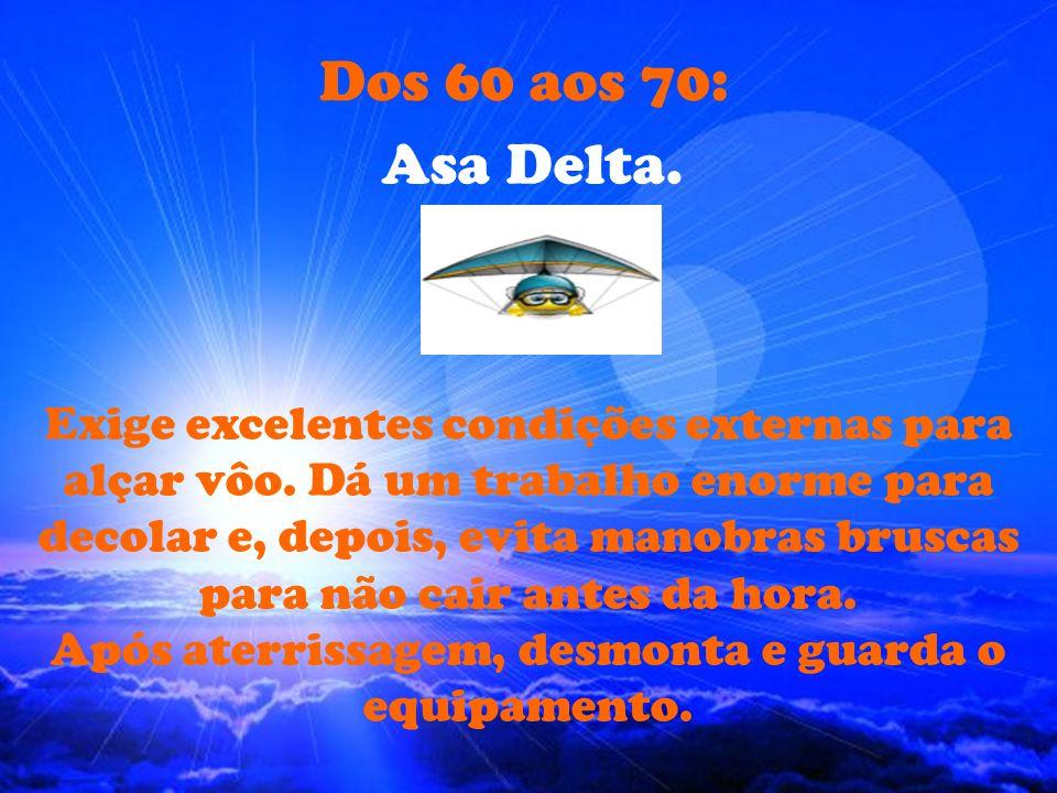Dos 60 aos 70: Asa Delta.