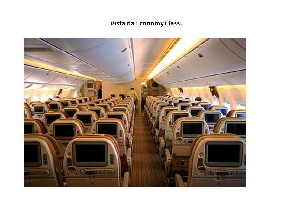 Vista da Economy Class.
