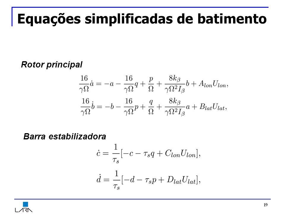 Equações simplificadas de batimento