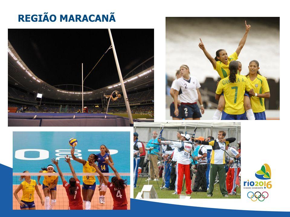 REGIÃO MARACANÃ CLUSTER MARACANÃ - RIO 2016