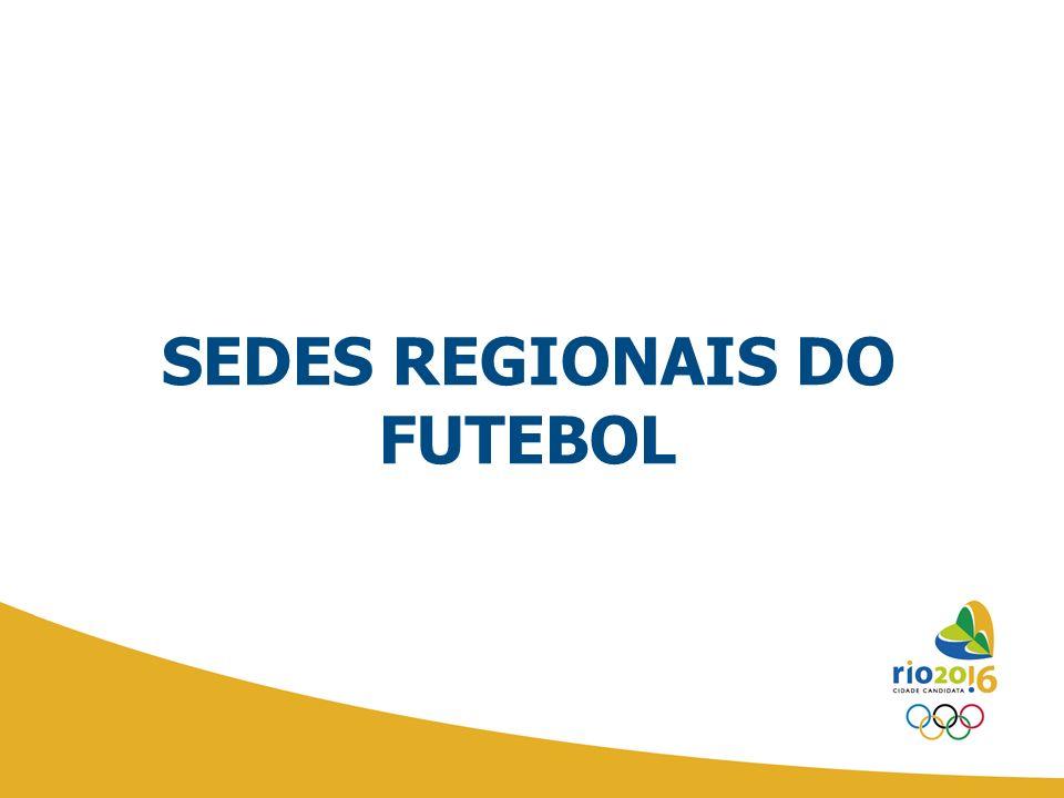 SEDES REGIONAIS DO FUTEBOL