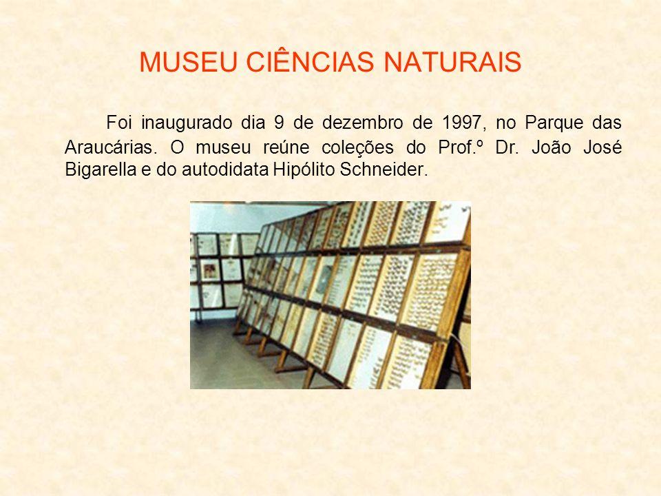 MUSEU CIÊNCIAS NATURAIS