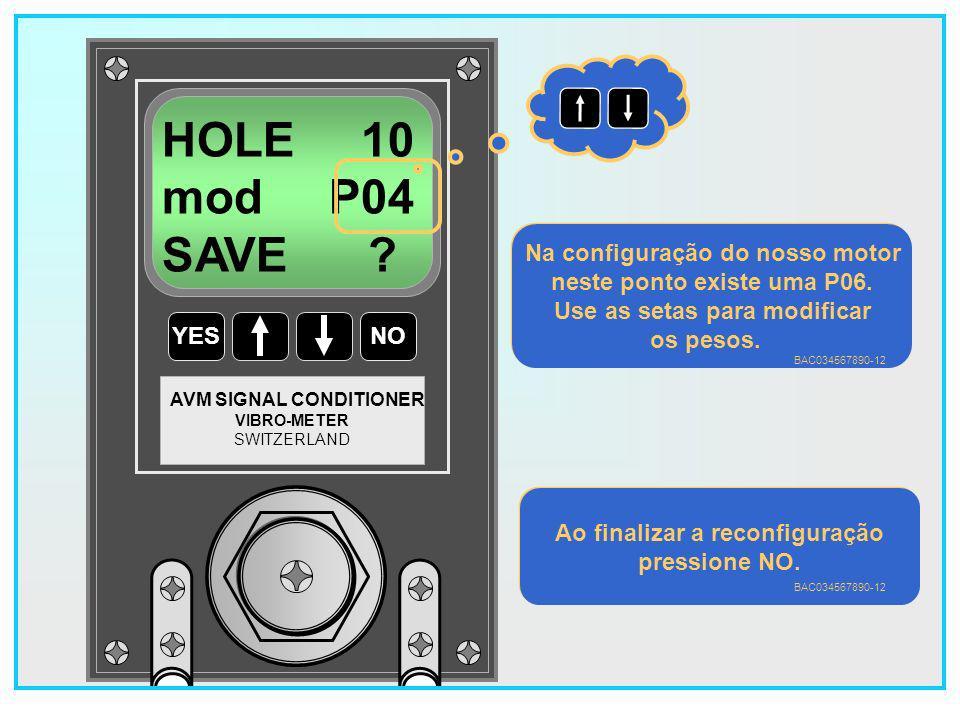 HOLE 10 mod P04 SAVE Na configuração do nosso motor