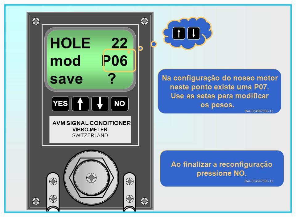 HOLE 22 mod P06 save Na configuração do nosso motor