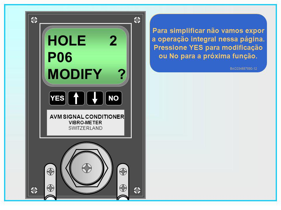 HOLE 2 P06 MODIFY Para simplificar não vamos expor