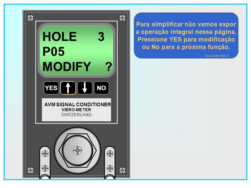 HOLE 3 P05 MODIFY Para simplificar não vamos expor