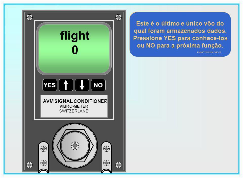 flight Este é o último e único vôo do qual foram armazenados dados.