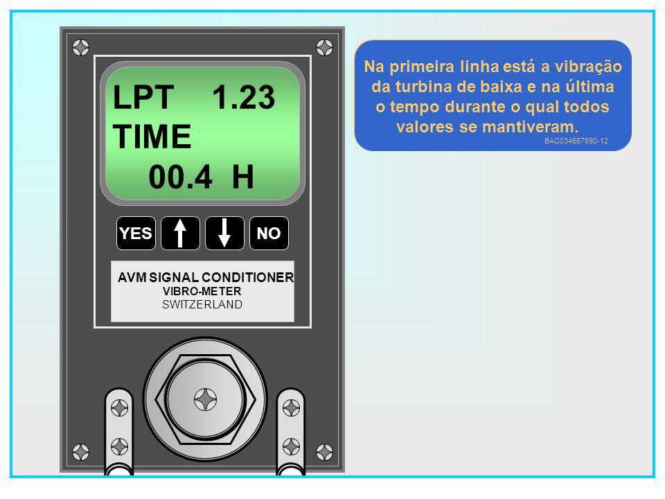 LPT 1.23 TIME 00.4 H Na primeira linha está a vibração
