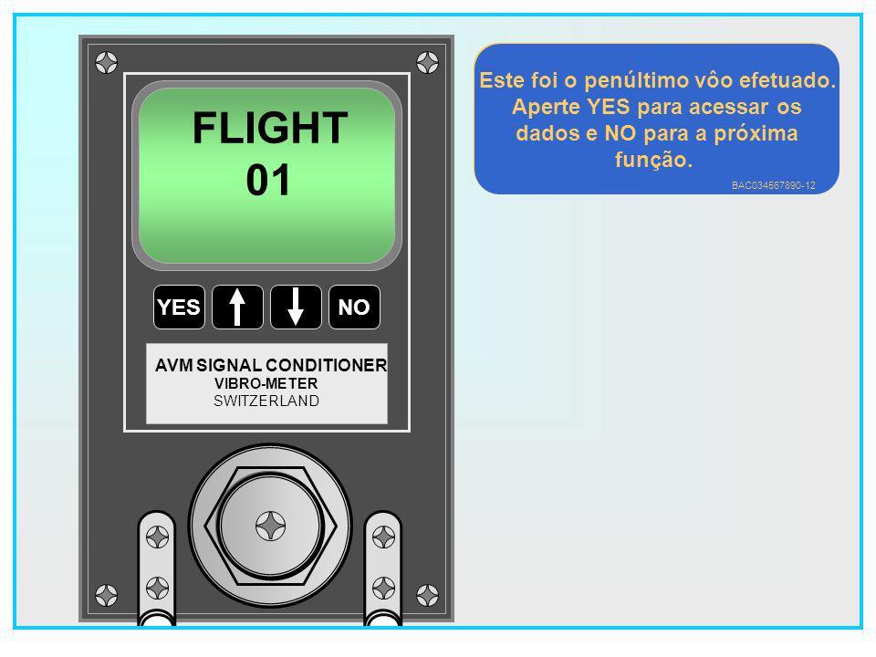 FLIGHT 01 Este foi o penúltimo vôo efetuado.