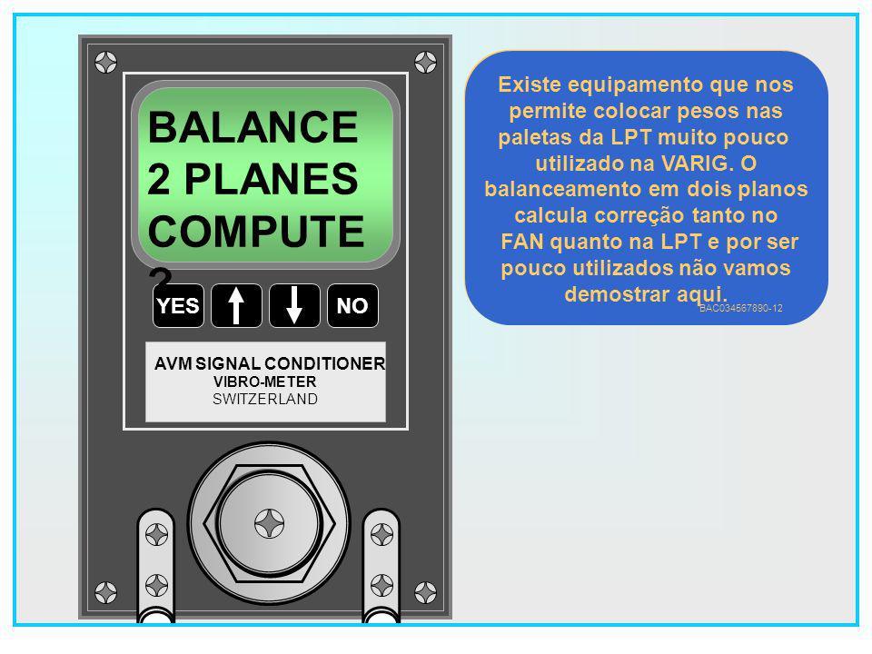 BALANCE 2 PLANES COMPUTE Existe equipamento que nos