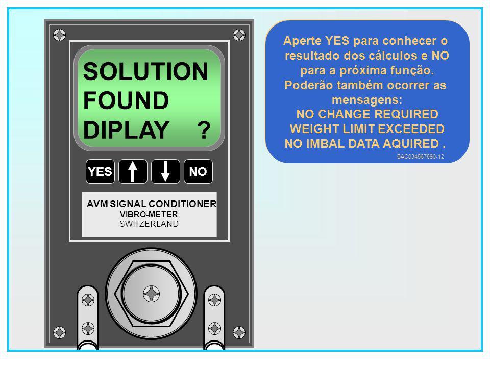 SOLUTION FOUND DIPLAY Aperte YES para conhecer o