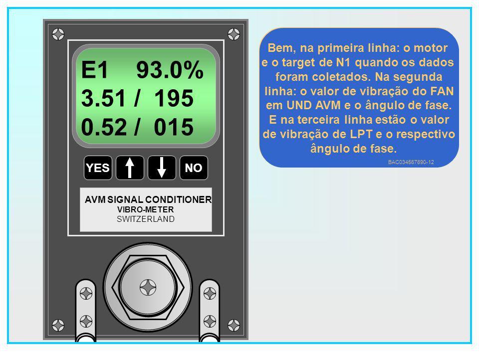 E1 93.0% 3.51 / 195 0.52 / 015 Bem, na primeira linha: o motor