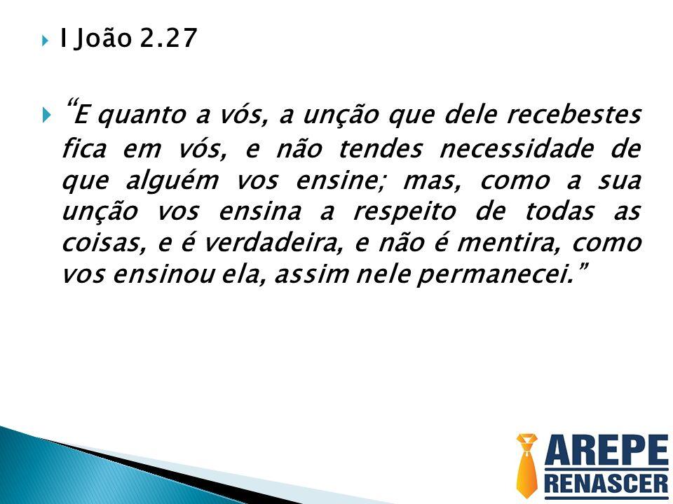I João 2.27