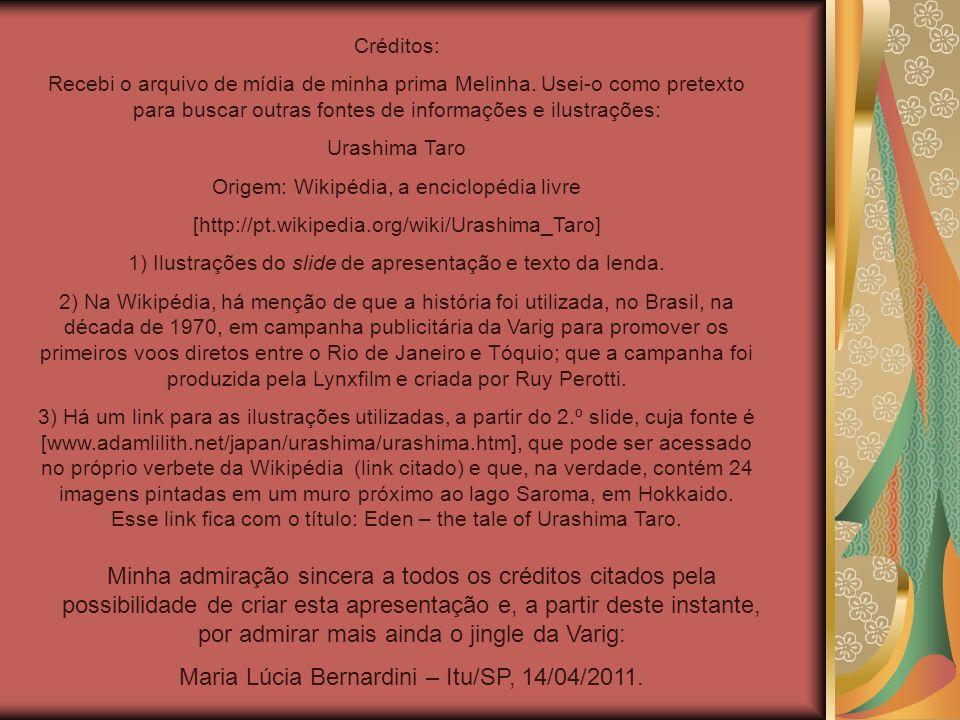 Maria Lúcia Bernardini – Itu/SP, 14/04/2011.