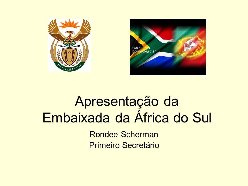 Apresentação da Embaixada da África do Sul