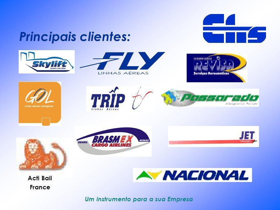 Principais clientes: Acti Bail France