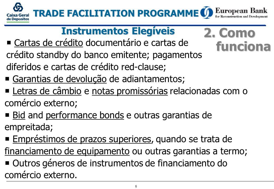 Instrumentos Elegíveis