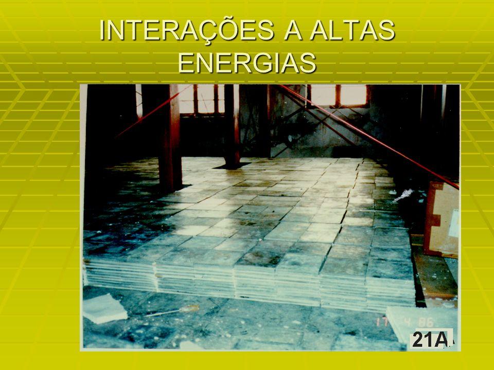 INTERAÇÕES A ALTAS ENERGIAS