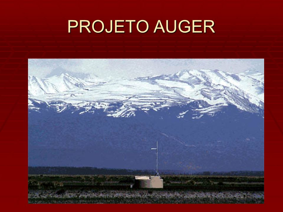 PROJETO AUGER
