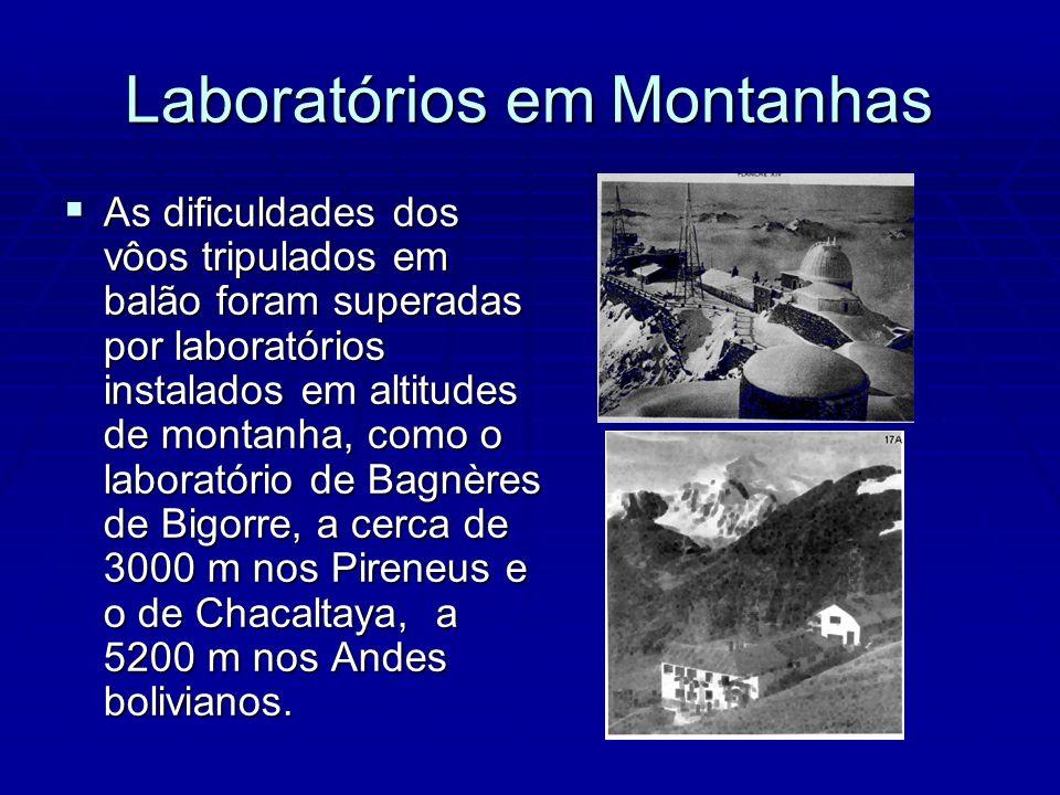 Laboratórios em Montanhas