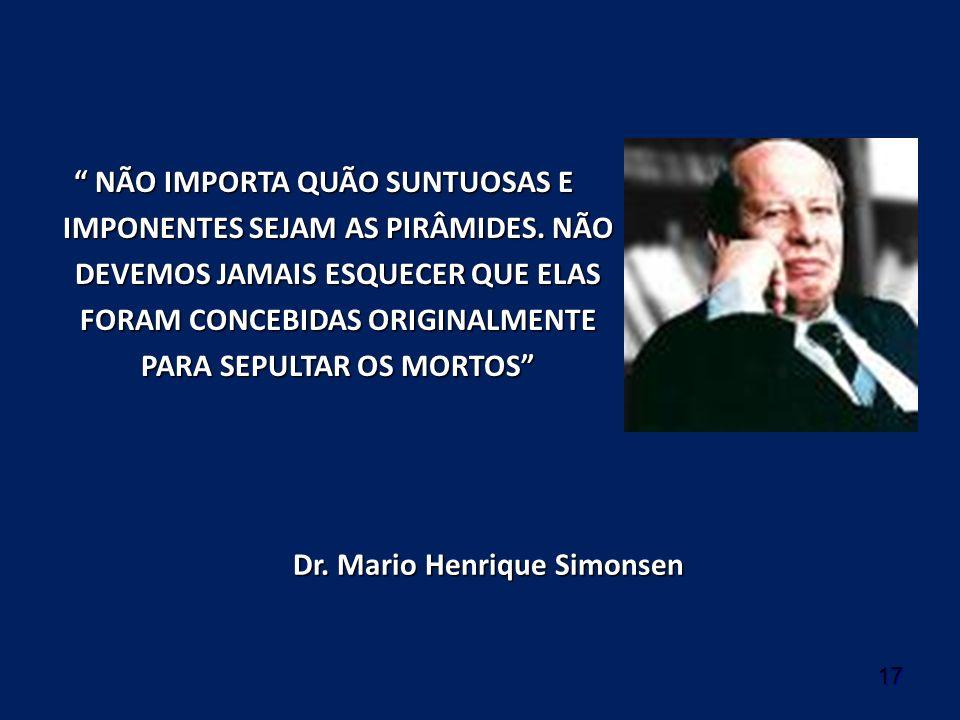 Dr. Mario Henrique Simonsen