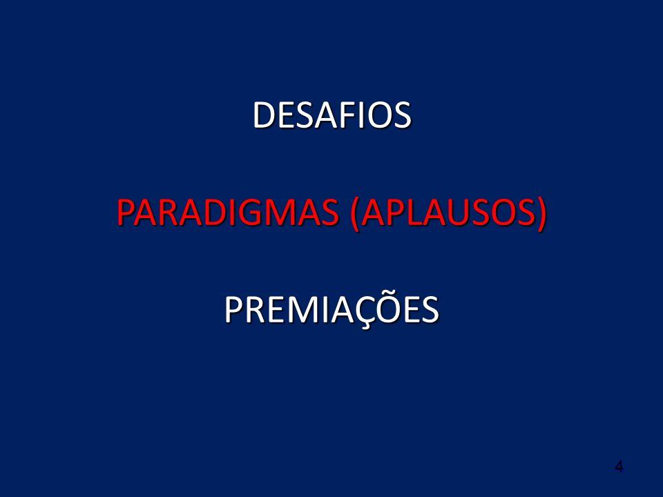 DESAFIOS PARADIGMAS (APLAUSOS) PREMIAÇÕES