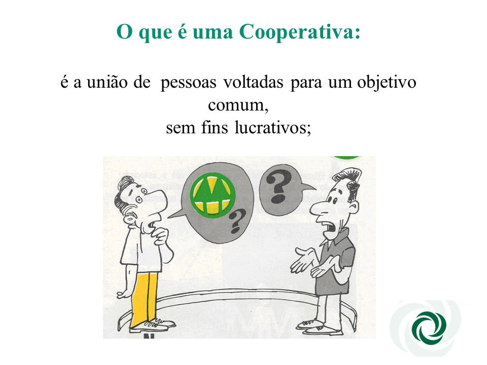 O que é uma Cooperativa:
