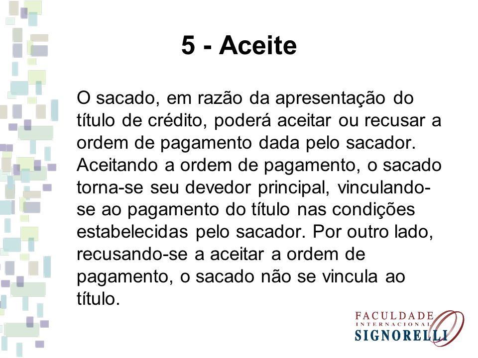 5 - Aceite