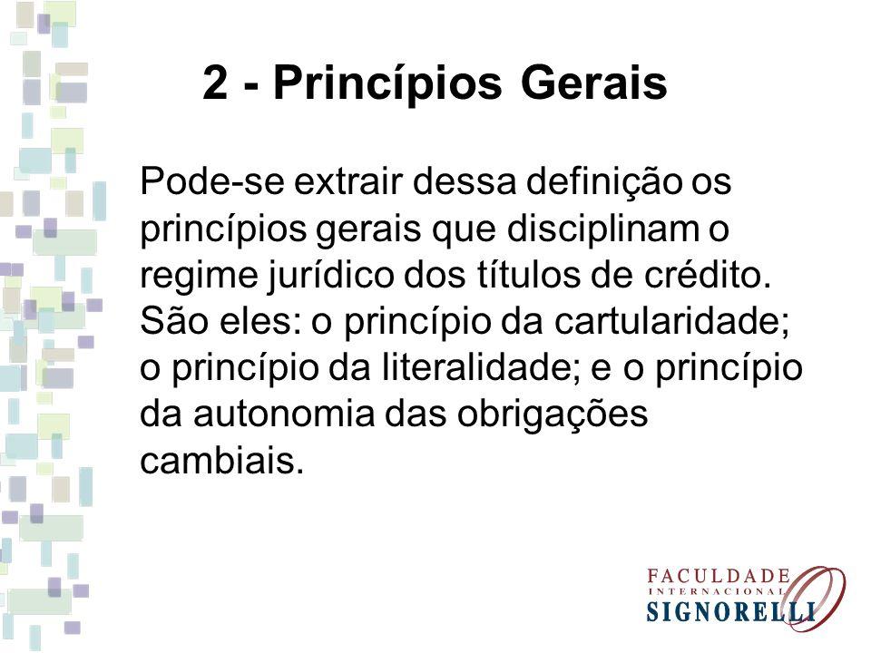 2 - Princípios Gerais