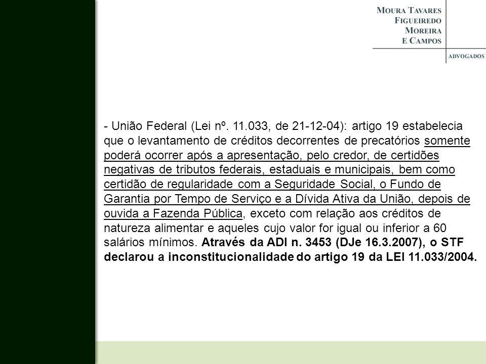 - União Federal (Lei nº.