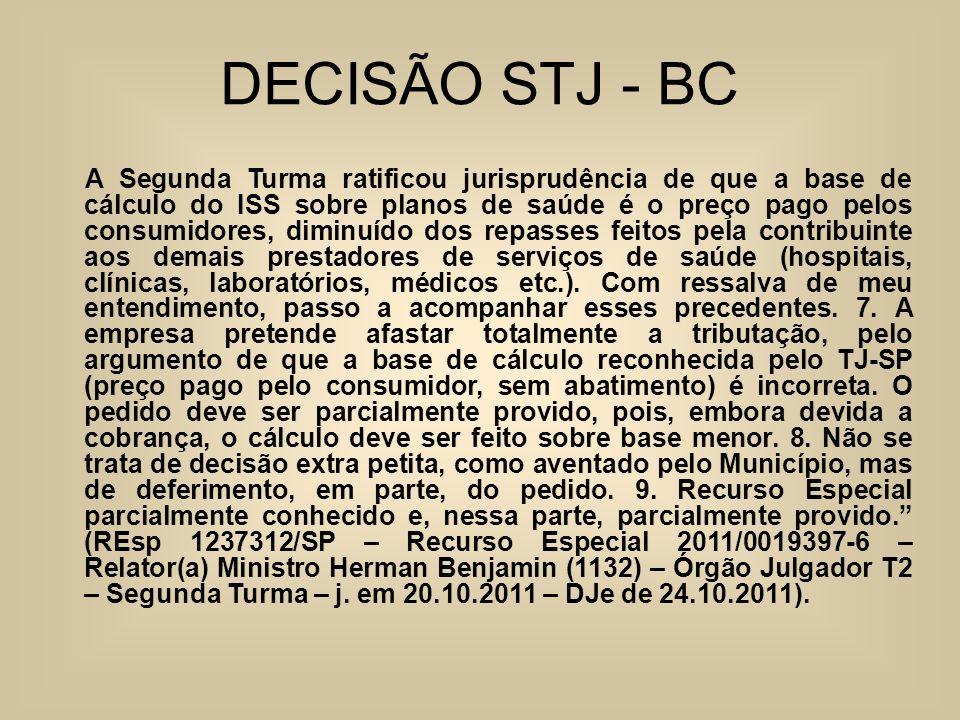 DECISÃO STJ - BC