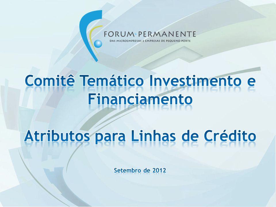 Comitê Temático Investimento e Financiamento