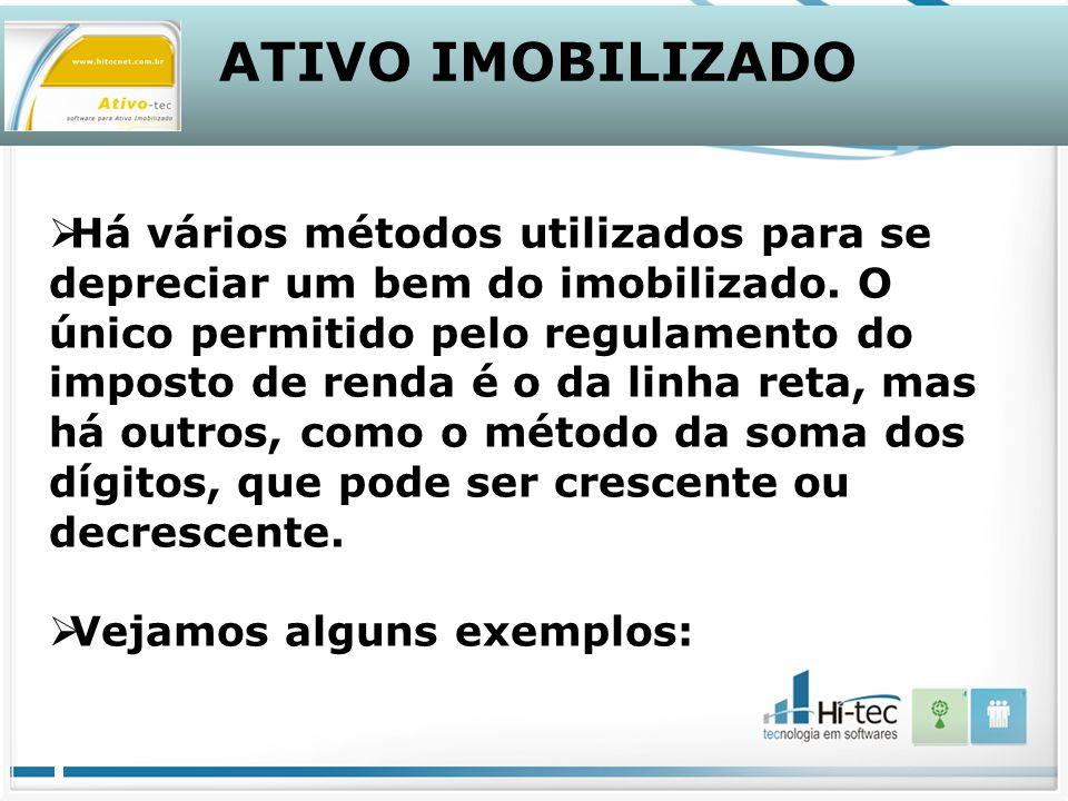 ATIVO IMOBILIZADO