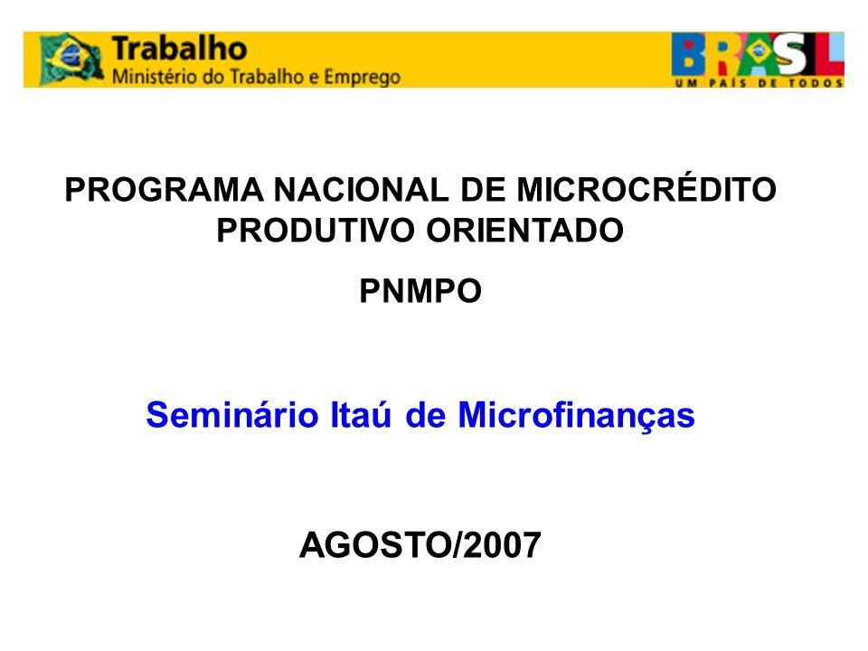 Seminário Itaú de Microfinanças
