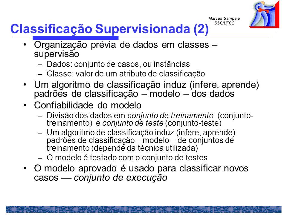 Classificação Supervisionada (2)