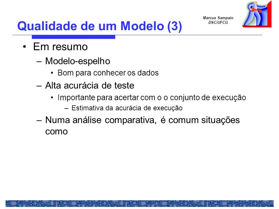 Qualidade de um Modelo (3)